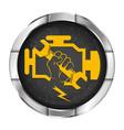 engine repair symbol vector image vector image