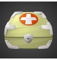 funnycartoon medicine box or case vector image vector image