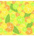 Seamless pattern with citrus