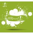 Bright contrast splattered web design repeat vector image vector image
