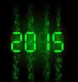 digital 2015 z digital 2014 01 vector image vector image
