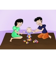 family activities vector image vector image