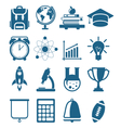 High School and College Education vector image vector image