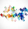 Modern colorful geometric abstract template vector image vector image