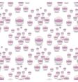 Scattered Pearls Seamless Pattern vector image vector image
