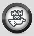 wi-fi area icon vector image