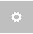 gearwheel computer symbol vector image