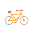 bicycle bike icon closeup vector image