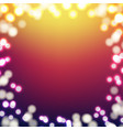 blur color background vector image vector image