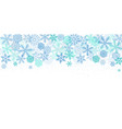 christmas banner background xmas design blue vector image vector image