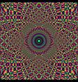 fractal background vector image vector image