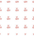 home al icon pattern seamless white background vector image vector image