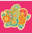 Mehndi design Patterns vector image vector image