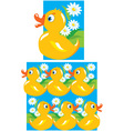 Pattern for children vector image