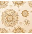 Seamless mandala pattern Ethnic vintage vector image