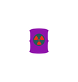 Toxic container Icon vector image vector image