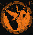 ancient greek god prometheus vector image vector image