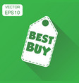 best buy hang tag icon business concept best buy vector image vector image