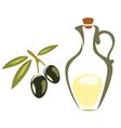 black olives symbol vector image vector image