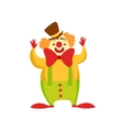 Clown Entertainer Kids Birthday Party Happy vector image vector image