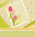 Floral backdrop vector image