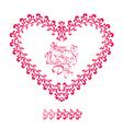 heart ornament 3 380 vector image