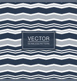 seamless striped textile texture - curve vector image vector image