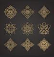 set of thai art design