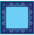 vintage frames version blue version vector image vector image
