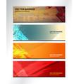 banner texture design vector image vector image