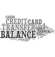 Better balance transfer credit card use text word