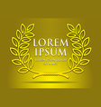 logo or symbol awards vector image vector image