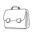 school bag icon vector image vector image