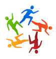 Team runners 5 vector | Price: 1 Credit (USD $1)