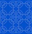 vintage ornamental pattern vector image vector image