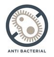 anti-bacterial sign anti-allergic material