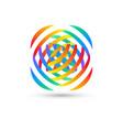 concept of circle logo vector image vector image