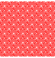 Design seamless red spiral diagonal pattern vector image