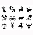 Horoscope symbol vector image