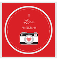 Love photography1 vector image