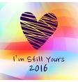 NY2016 Color Heart 2 vector image