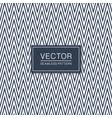 stylish seamless zigzag pattern - trendy design vector image vector image