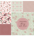 Vintage retro patterns vector | Price: 1 Credit (USD $1)