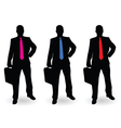 businessman with tie vector image