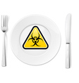 Dangerous food vector | Price: 1 Credit (USD $1)