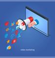 digital marketing concept 04 vector image vector image