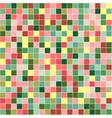 Mosaic tiles texture background vector image
