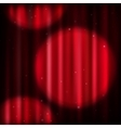 Red curtain and spot light EPS 10