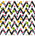 summer fruits pattern vector image vector image
