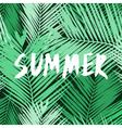 Summer Poster Design vector image vector image